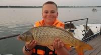 Конец августа. Рыбалка на Волге
