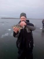 Рыбалка на Крещение