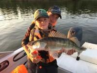 На рыбалку с детьми