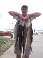 Рыбалка началась
